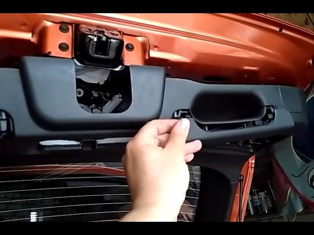 крышка багажника LADA Vesta SV Cross