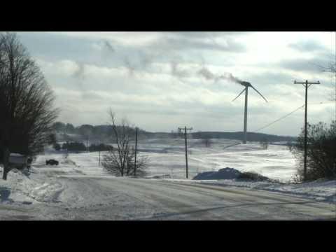 McBain Wind Turbine Fire 12/20/16