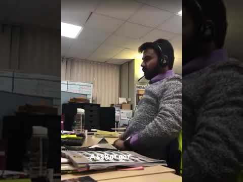 Testicle Office Phone Prank