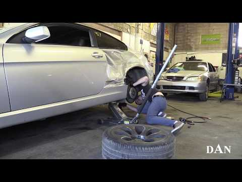 Body Repair Quarter Panel Replacement BMW 6-Series 645Ci