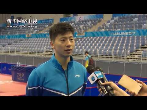 20170826 Ma Long interview with Xinhua Sports