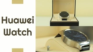 Huawei Watch - обзор часов на Android Wear