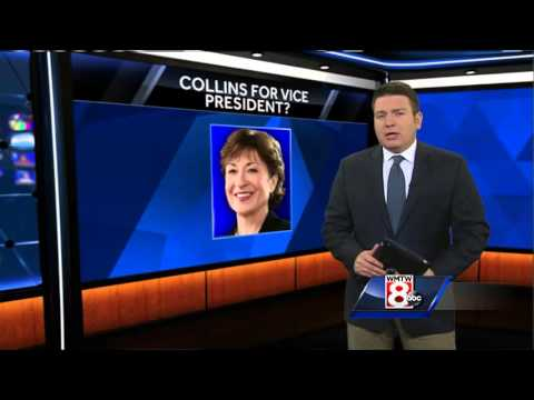 Sen. Susan Collins for VP?