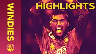 Nazmul Islam Stars In Last Over Thriller - Windies v Bangladesh 2nd IT20 2018 | Extended Highlights