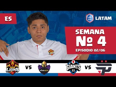CRL LATAM: Mad Lions vs Vivo Keyd | Giants Gaming vs Pain Gaming