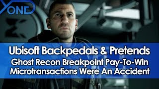 Ubisoft Backpedals & Pretends P2W Microtransactions Was An Accident For Ghost Recon Breakpoint