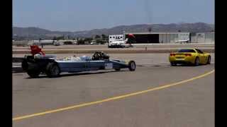 Smoke N' Thunder Jet Car at the 2014 San Diego Air Show