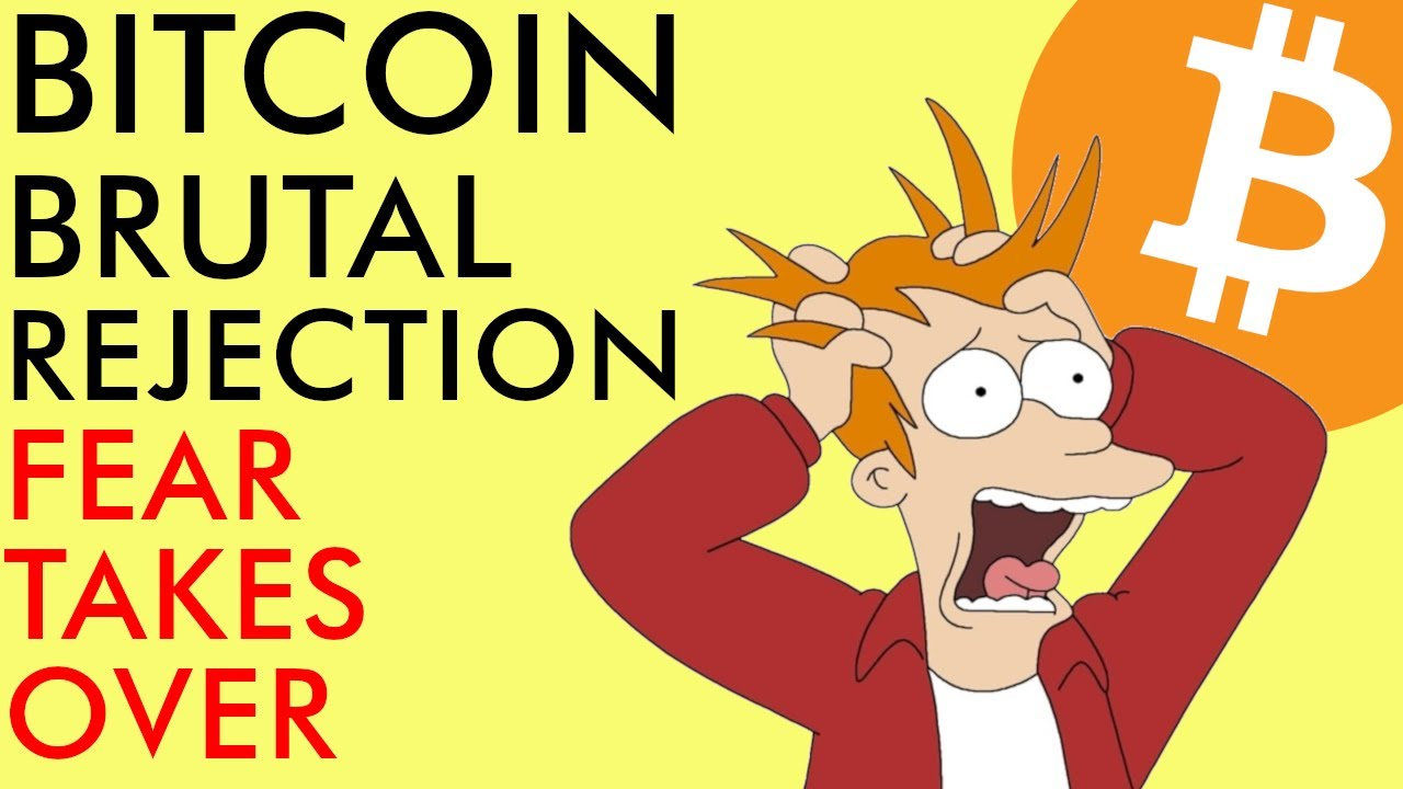 BREAKING! BITCOIN BRUTAL REJECTION! Fear Driving Markets & 500 Billion Theft   Crypto News 2020