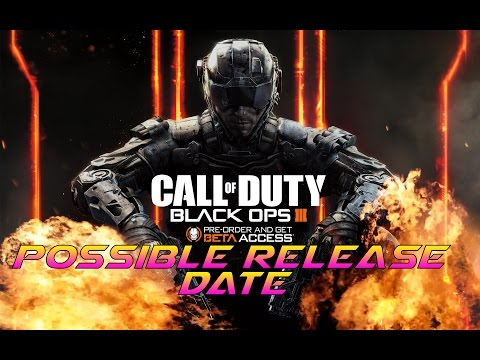 Release date of black ops 3 in Australia