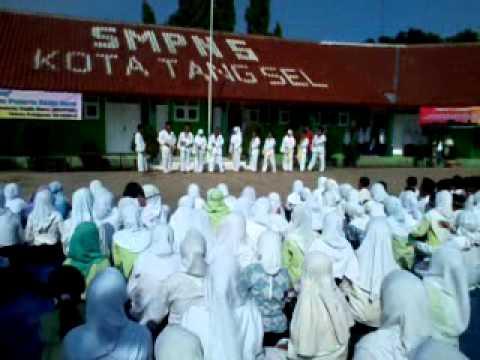 Demo Taekwondo Smpn 5 Tangerang Selatan Youtube