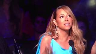 "Mariah Carey singing ""The Closer I Get To You"" on American Idol"