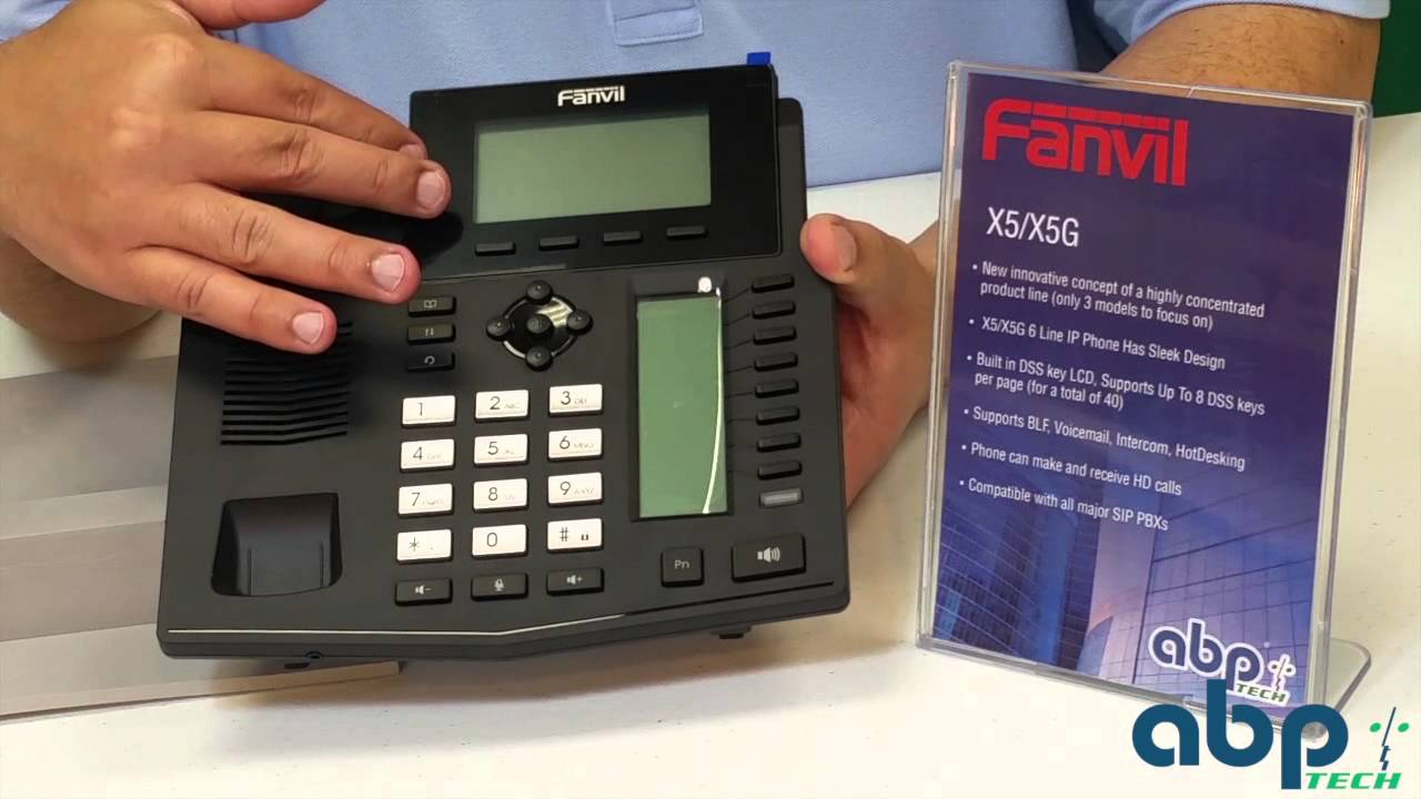 fanvil x5 enterprise ip phone unboxing youtube. Black Bedroom Furniture Sets. Home Design Ideas