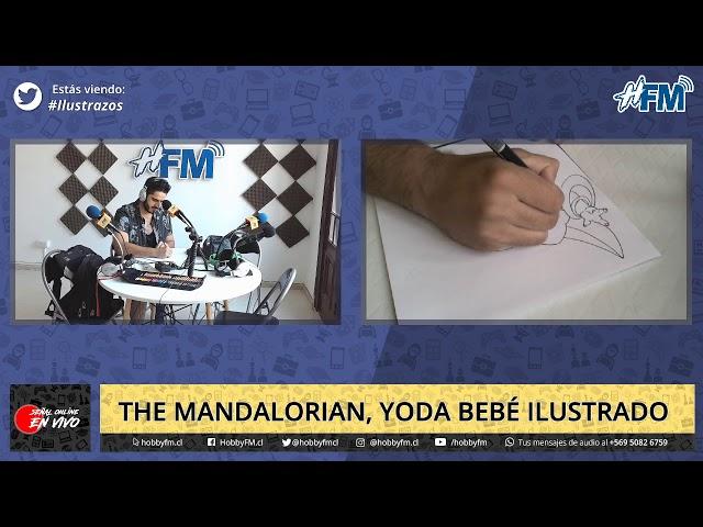 Ilustrazos / Yoda bebé ilustrado - 07 de diciembre 2019