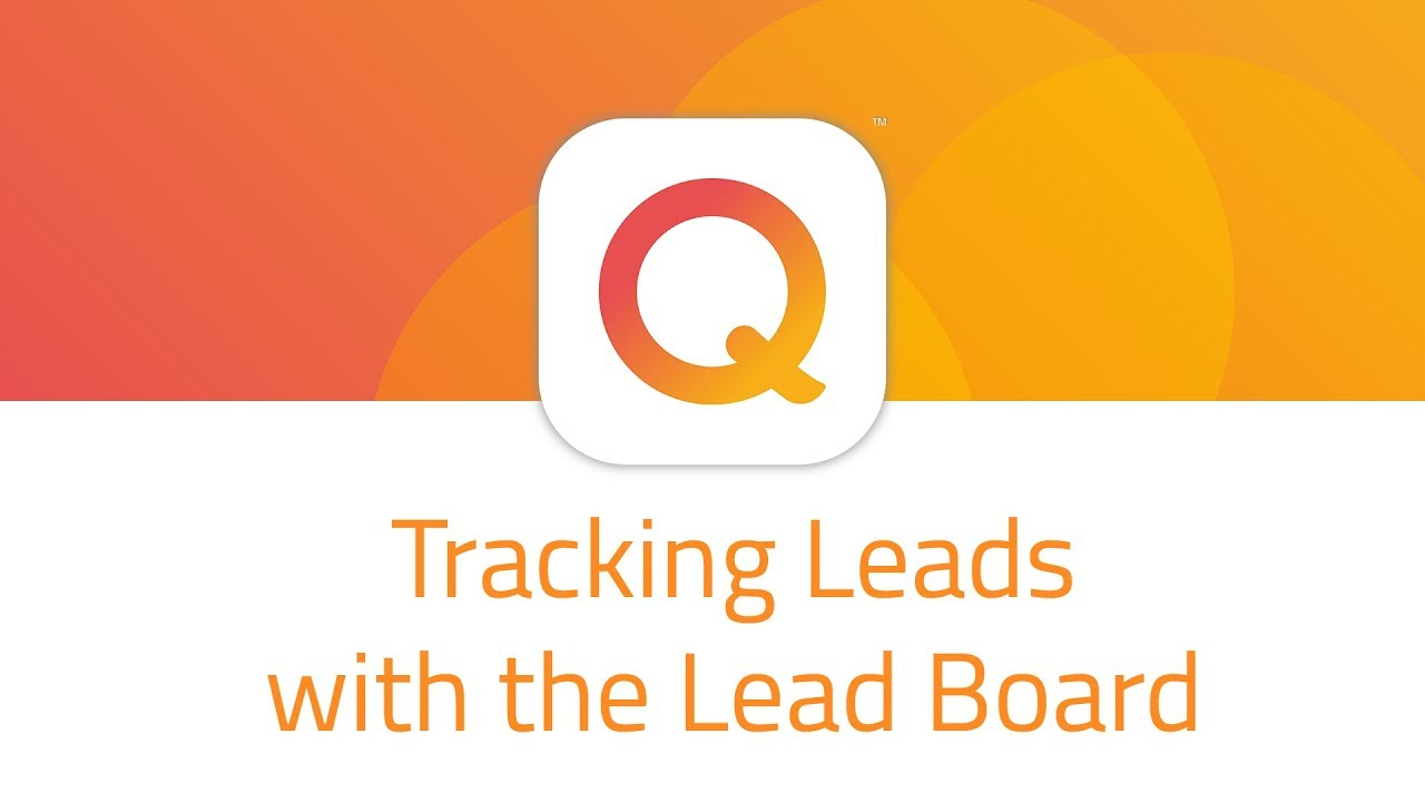 tracking leads with the lead board youtube