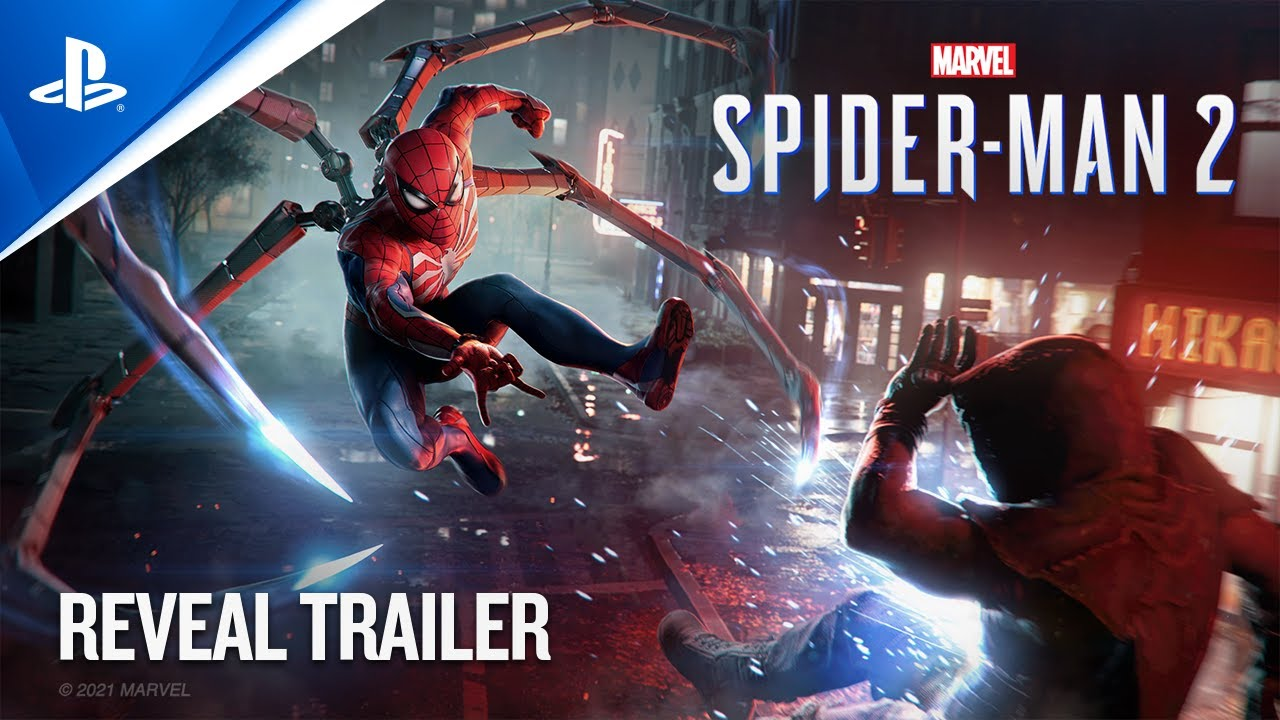 Marvel's Spider-Man 2 - PlayStation Showcase 2021: Reveal Trailer   PS5