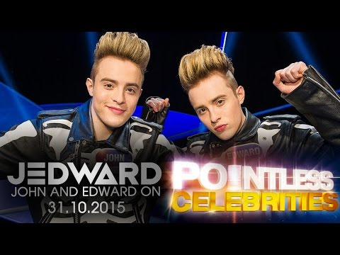 Jedward on Pointless Celebrities Halloween Special