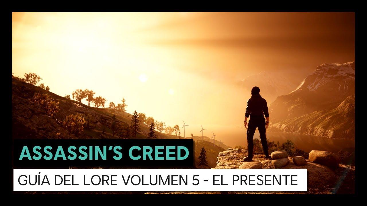 ASSASSIN'S CREED GUÍA DEL LORE VOLUMEN 5 - EL PRESENTE