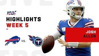 Josh Allen Leads the Bills to Victory!