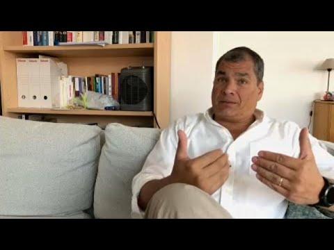 Exclusivo: Ex-Presidente do Equador contesta mandado de captura