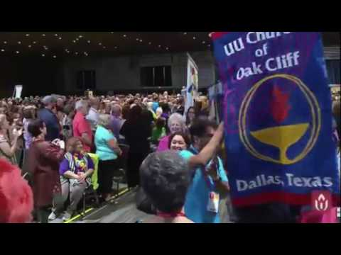 113 Banner Parade and Celebration at UUA GA 2017