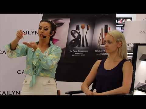 Cailyn Ireland MRS Makeup Demonstration at Shaws