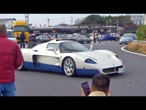 【羽生PA】エンツォ他 スーパーカー加速サウンド/Supercars sound in Japan. MC12, Enzo, Zonda, 918, and more❗️#スーパーカー