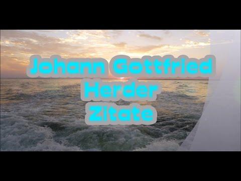Johann Gottfried Herder - Zitate