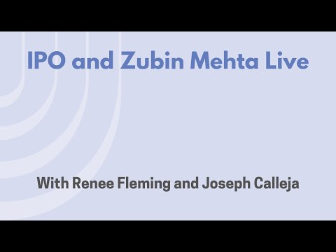 IPO Live with Renee Fleming and Joseph Calleja