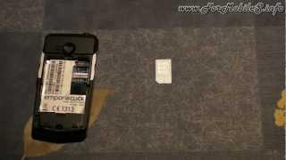 Emporia Telecom emporiaCLICK - Inserimento SIM, batteria e prima accensione