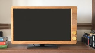Converting Led TV to Retro TV - Led TV yi Nostaljik TV ye Dönüştürme