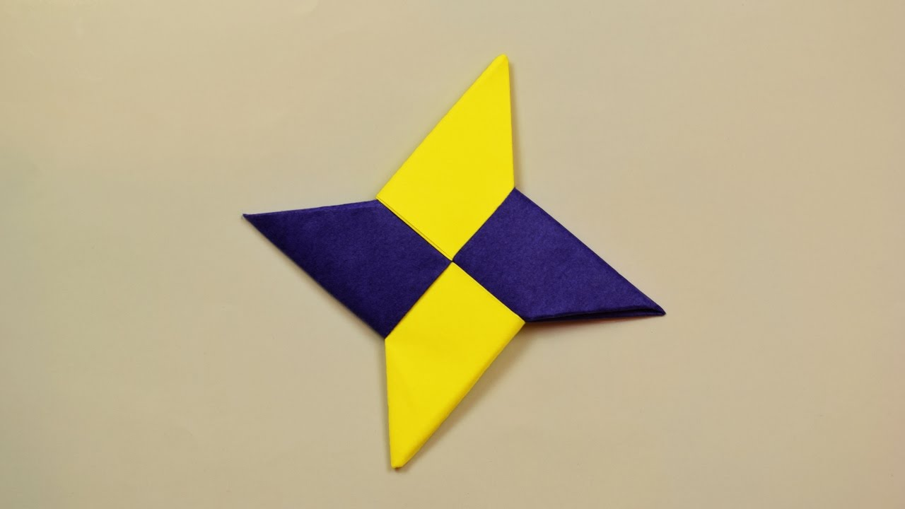 Origami Ninja Star - YouTube | 720x1280