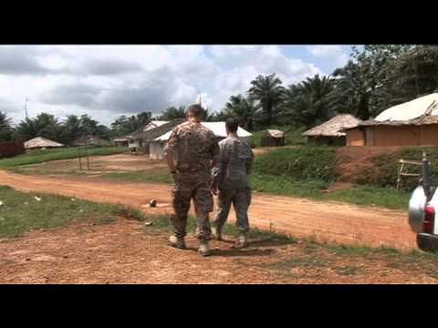FN-observatoer I Liberia