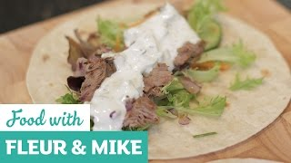 Roast Lamb Wraps Made With Easter Leftovers | Fleur & Mike