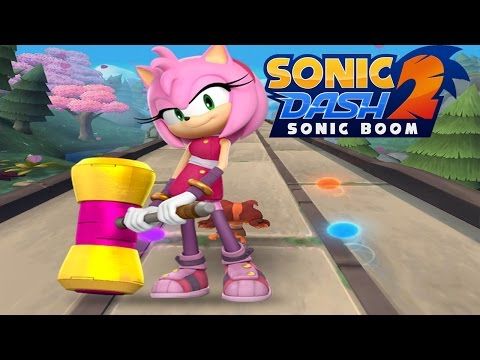 Sonic Dash 2: Sonic Boom - Amy's Dash Smash  Special Event Gameplay