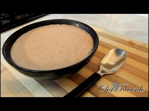Peanuts Porridge Recipe Video | Recipes By Chef Ricardo