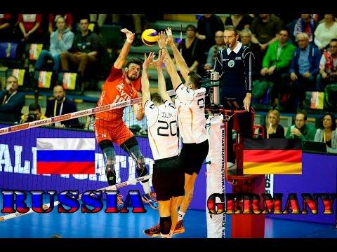 Волейбол. Россия - Германия.