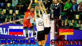 Волейбол. Россия - Германия. Олимпийский отбор 2016. Полуфинал.