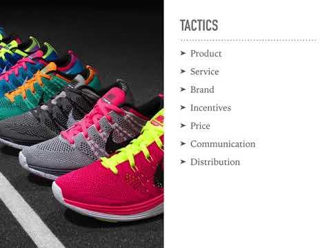 Nike, Inc. Marketing Plan Presentation
