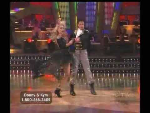Donny and Kym dance Paso Doble(80s style) - DWTS Season 9 Week 8