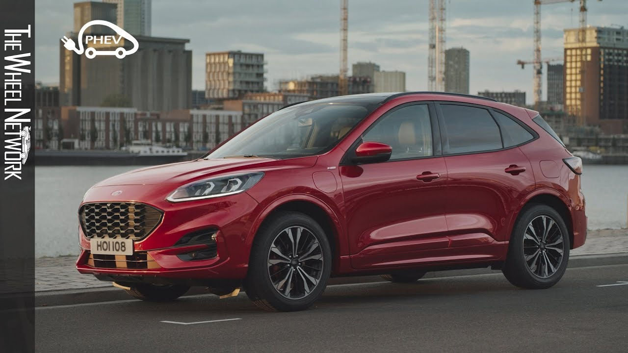 2020 Ford Kuga Plug In Hybrid St Line Exterior Interior Youtube