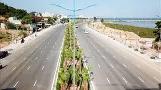 Ngắm những con đường đẹp ở Hạ Long từ trên cao