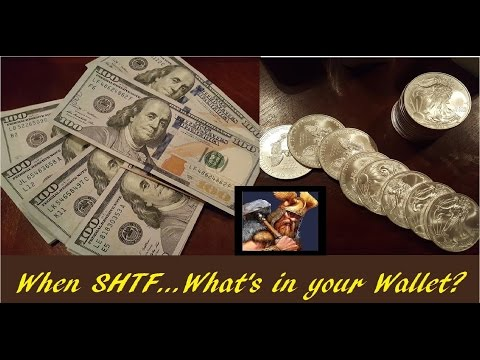 SHTF - Banking Collapse & Your Money - Silver & Gold