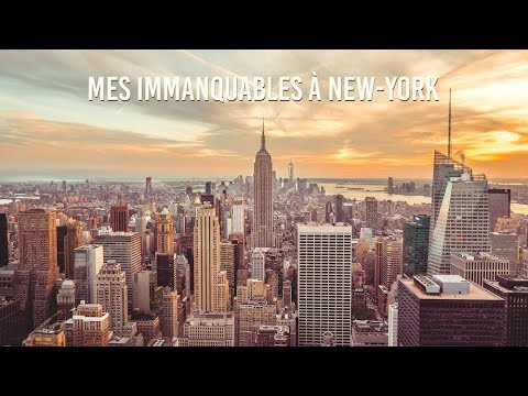 VLOG 12 - MES IMMANQUABLES À NEW-YORK