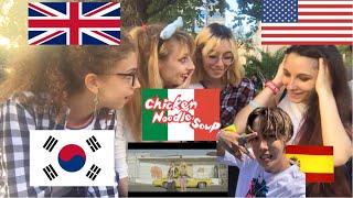 Reaction - [J-HOPE feat Becky G. - Chicken noodles soup]    Qt Dream