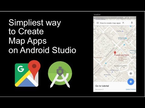 The Simpliest Way To Create Android Maps Apps Using Android Studio And Google Map API