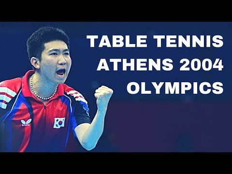 ATHENS OLYMPIC 2004 TABLE TENNIS BEST OF - Enjoy