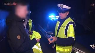 MASTER TV ŁUKÓW - Akcja rozdawania kamizelek odblaskowych przez Policję
