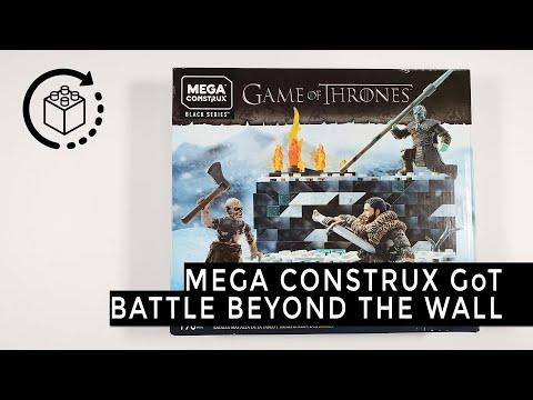 Mega Construx GKG96 Game of Thrones Battle beyond the wall Matell Jon Snow Night