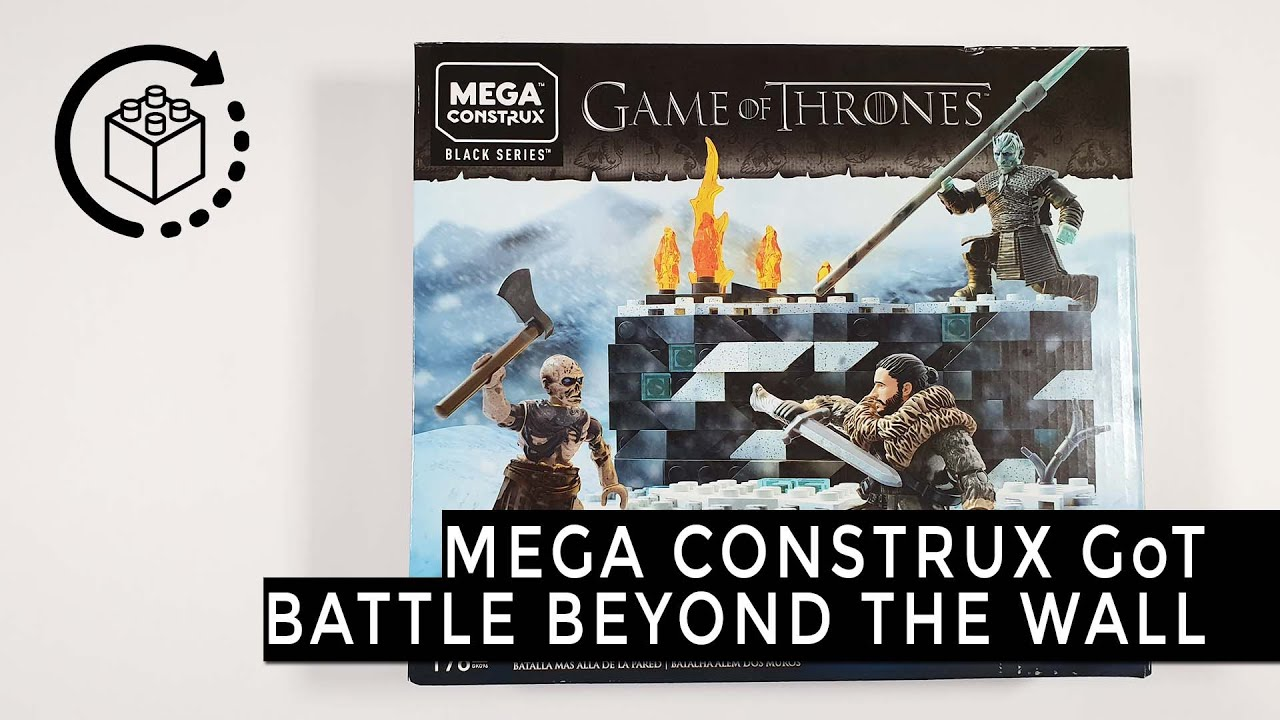 Game of Thrones White Walker Battle Mega Construx