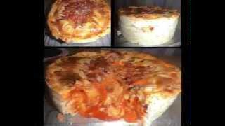 Filipino Pizza - How to make a home made pizza dough